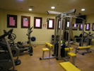 Well-equipped gym too, in our leisure club