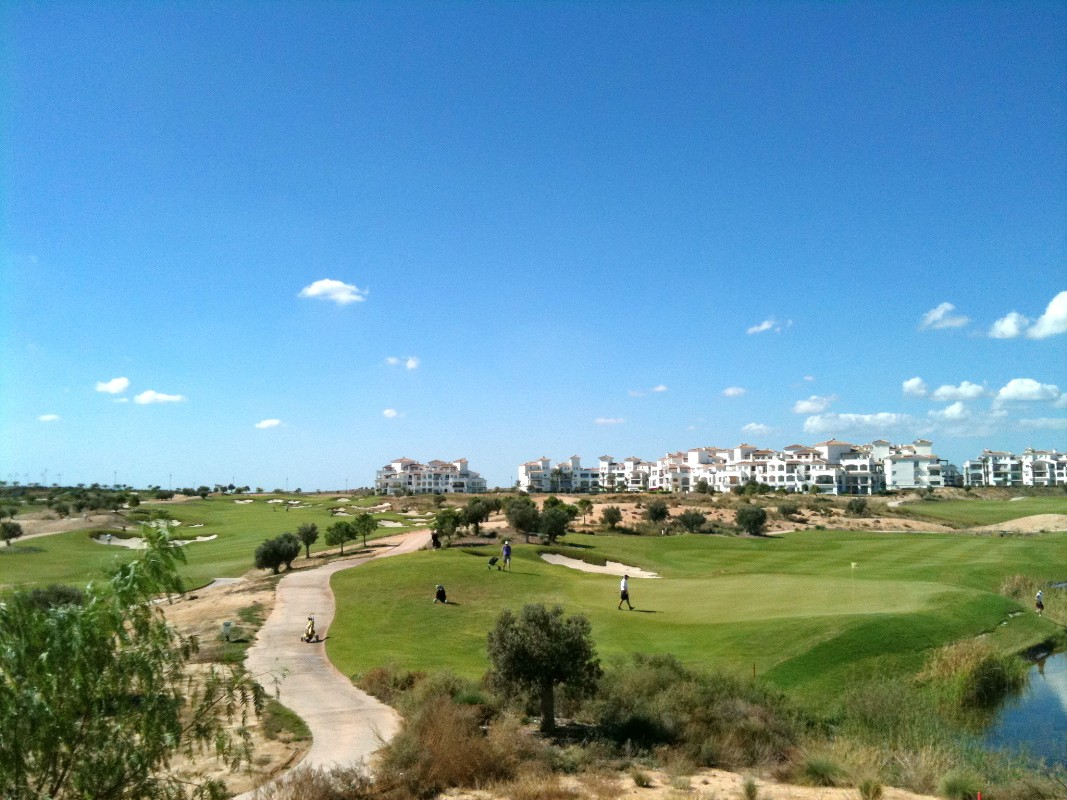 Apartment In Hacienda Riquelme Golf Resort In Sucina