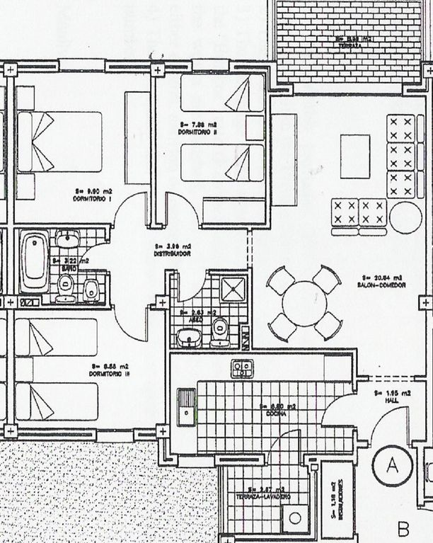 Long Narrow Apartment Floor Plans House Design With Long