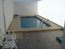 Plunge pool in the back