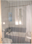 shared bathshower room