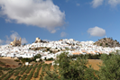 Olvera, one of the local white villages, 25 km away