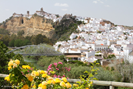 Arcos de la Frontera, a hilltop white village with a pretty lake, 50 km away