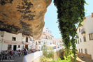 Setenil de las Bodegas, an unusual town built into rocks and caves, 30 km away