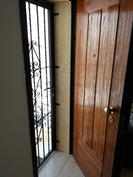 Double front door system allows fresh air circulation without compromising your security