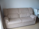 Cream, new sofa for sale