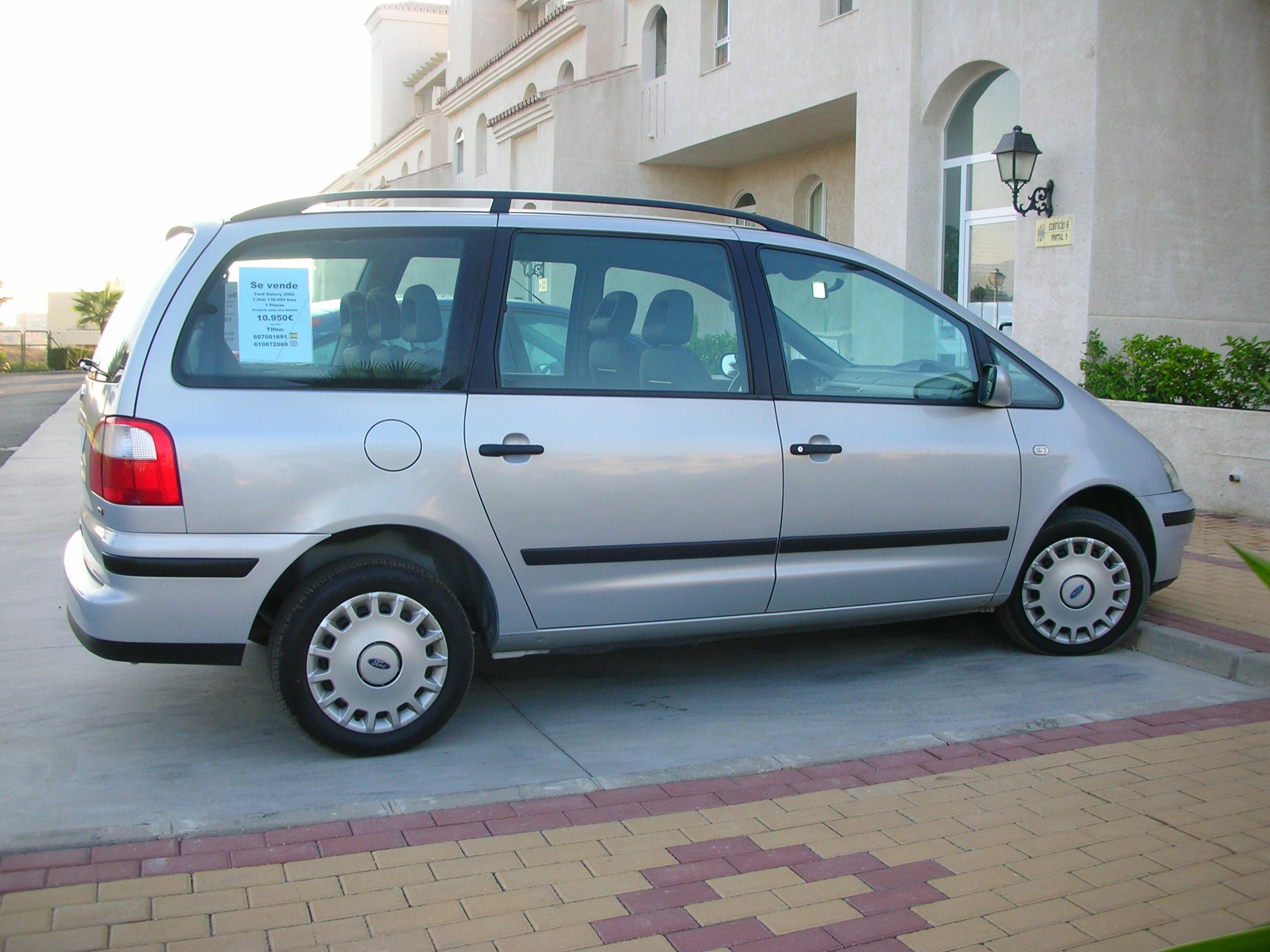 For saleford galaxy 2002 1 9tdi 7 seater superb condition €9950ono mijas costa tel0034 610872869