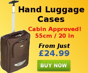 Cabin approved hand luggage