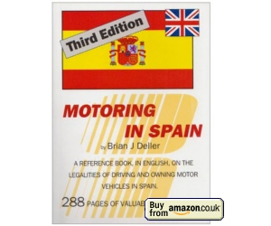 Driving in Spain book