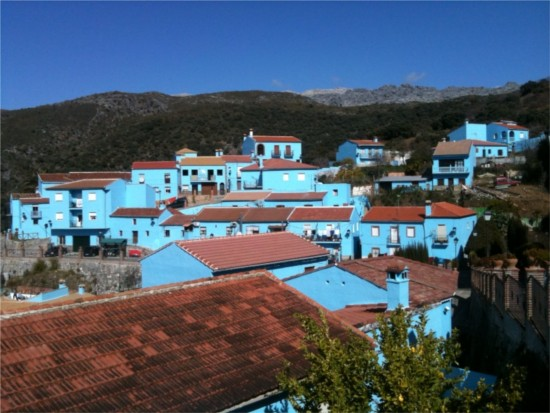 Juzgar smurf village in Spain