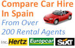 Compare car hire in Spain