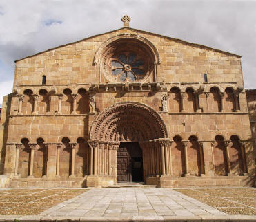 Santo Domingo church in Soria