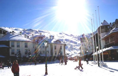 Sierra Nevada village