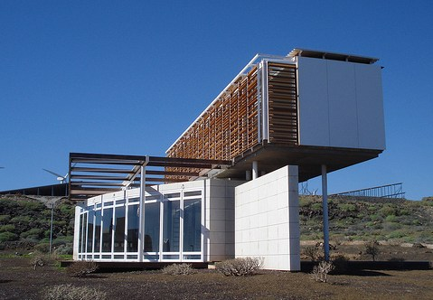 Bioclimatic home Tenerife