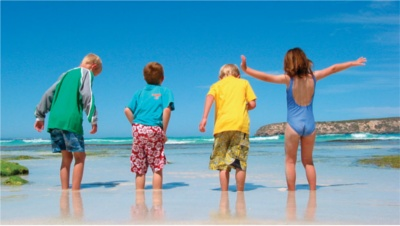 Kids holiday Spain