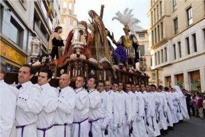 Procession in Malaga