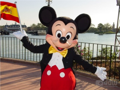 Mickey Mouse in Spain