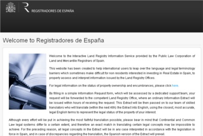 Registradores website