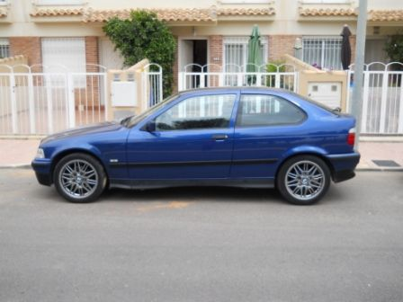 bmw 316i compact 1998 spanish plates lhd. Black Bedroom Furniture Sets. Home Design Ideas