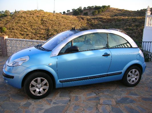 for sale 2003 citroen c3 pluriel 1 4 convertible. Black Bedroom Furniture Sets. Home Design Ideas