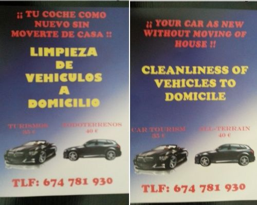 Car cleaning Manilva