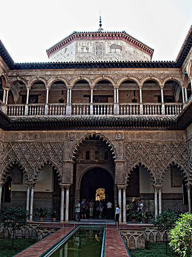 The Courtyard of the Maidens - Alcázar of Seville