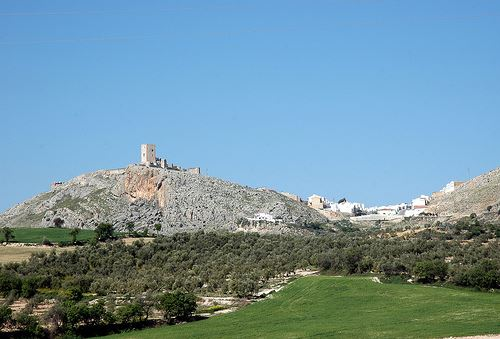 Teba Castle, Morning