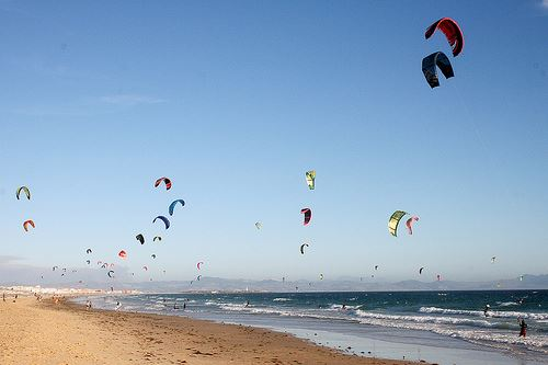 Tarifa and the wind...