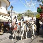 Strolling around the Mijas feria ...