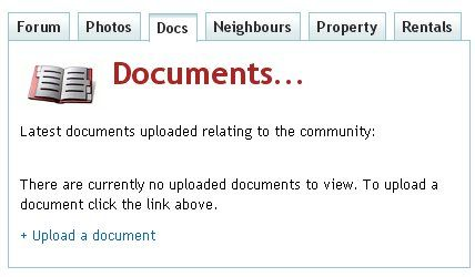 Documents screenshot