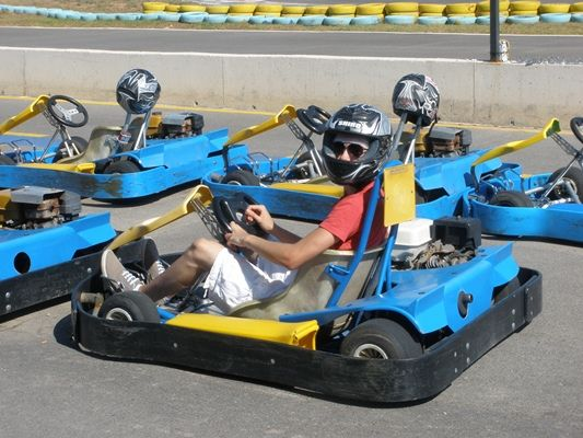 Go Karting on the Mar Menor