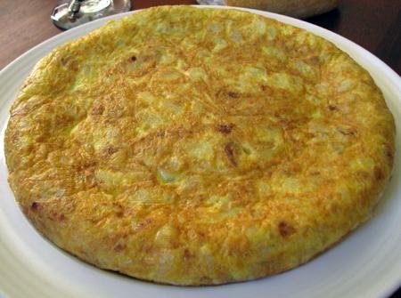 Spanish omelette recipe (Tortilla Española)