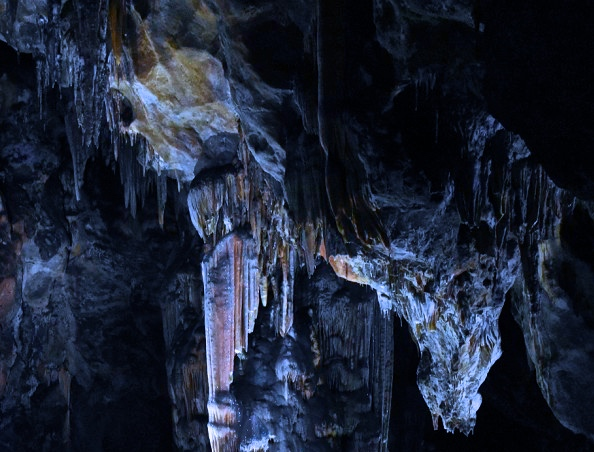 Ardales Cave interior. Photo from display