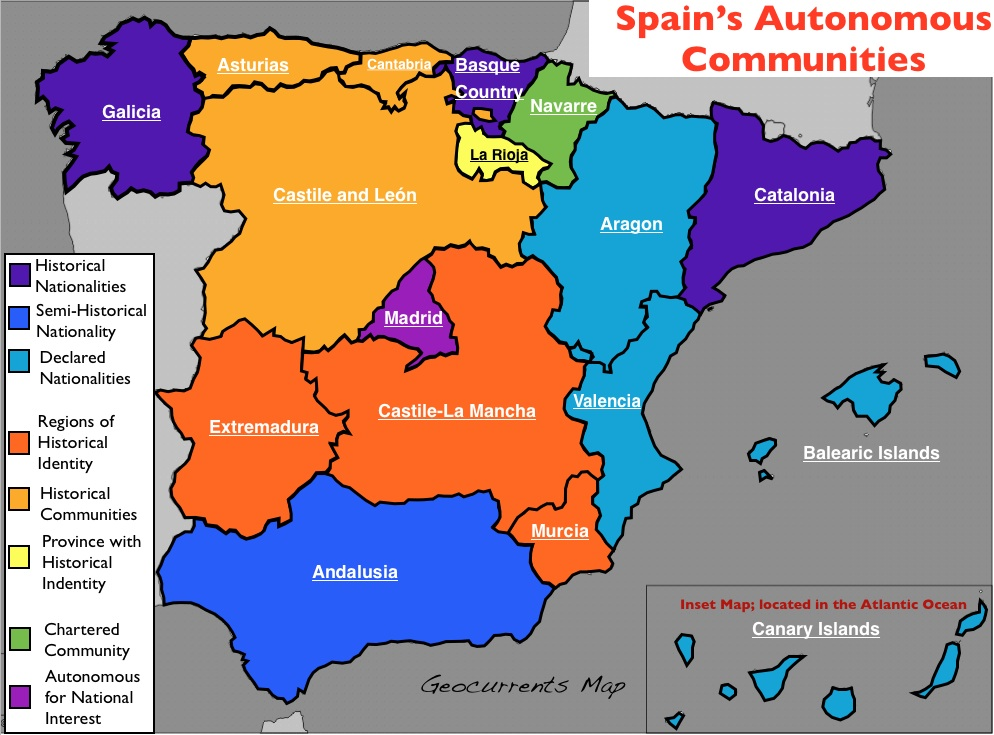 Why does Spain have so many ...