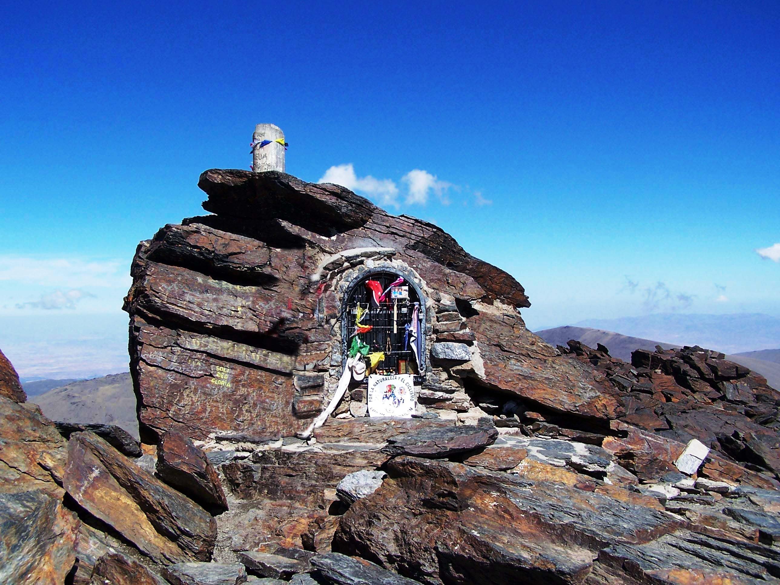 Mainland Spain's highest peak isn't that tough in Summer...