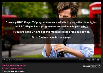 iPlayer blocked